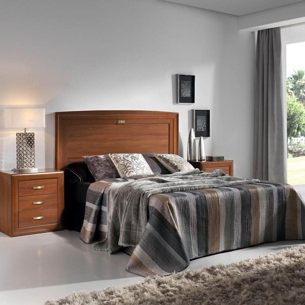 Dormitorios de matrimonio de estilo cl sico y colonial - Dormitorio estilo colonial ...